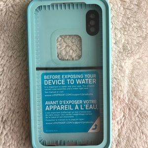 Lifeproof case iPhone X